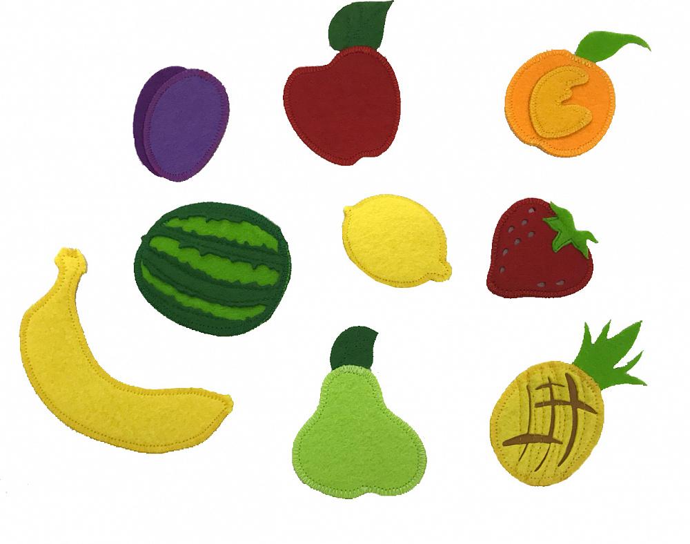 смежных фрукты и овощи из фетра картинки вам понравится